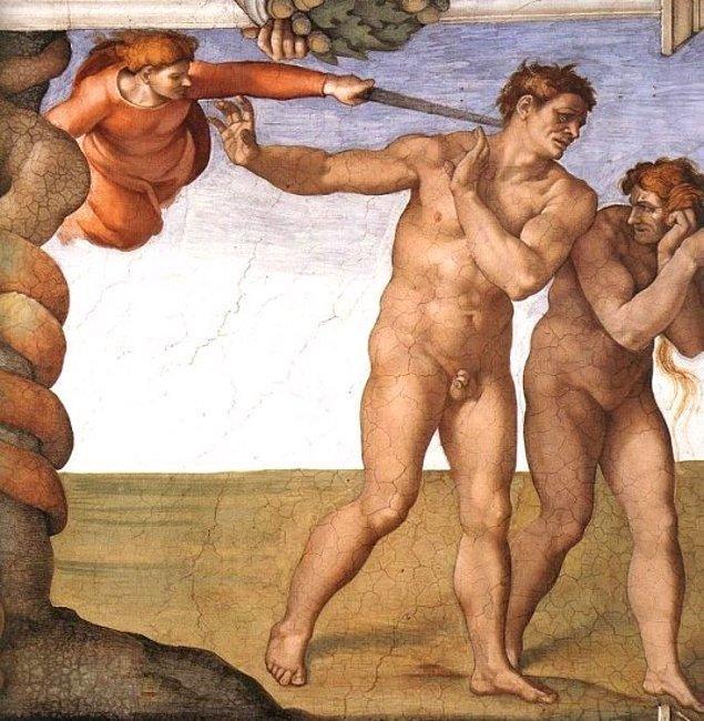15. Michalengelo Buonarroti (1508 - 1512)