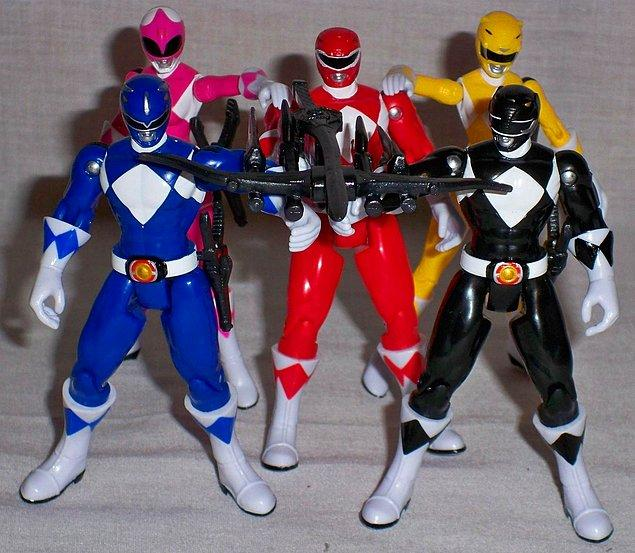 17. Power Rangers