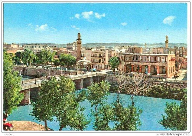 1960larda Suriye, Deyrizor'dan bir görüntü...