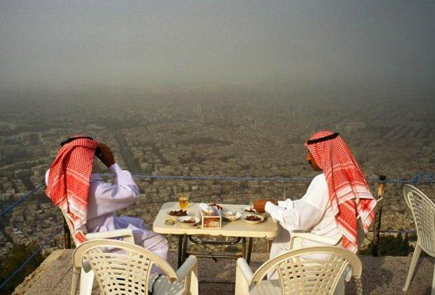 Suriye bir zamanlar güzel bir ülke olmasının yanı sıra, turistlerin de ziyaretler düzenlediği bir ülkeydi.