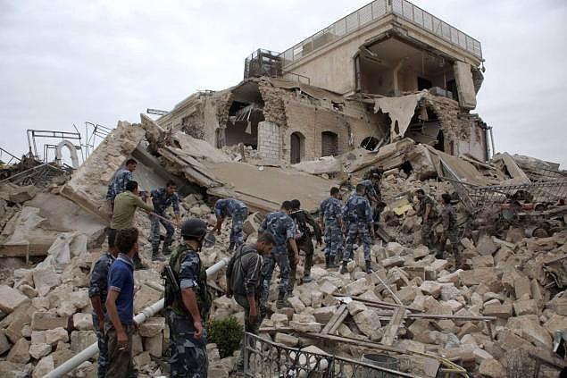 Şimdilerde Halep'in hali ise...