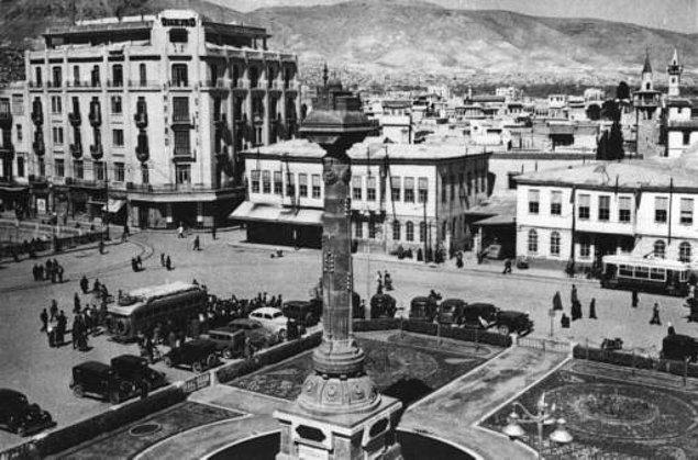 Şam'ın 1940lardaki görüntüsü...