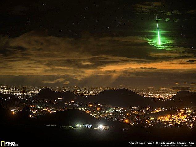 3. Manzara dalında şeref ödülü: Tesadüfen keşfedilmiş yeşil göktaşı, Hindistan