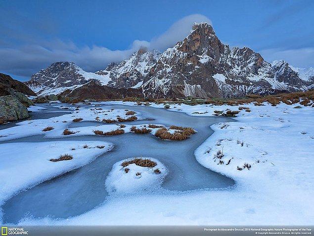 14. Manzara dalında ikincilik ödülü: Vahşi doğada buz pateni, İtalya