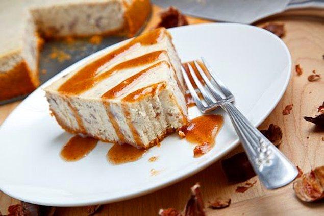 1. Kestaneli Cheesecake Tarifi