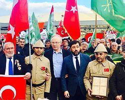 İstanbul/ Çerkesler'den teröre tepki yürüyüşü ve basın açıklaması..