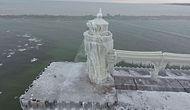 Buzdan Kaleye Dönüşen Deniz Feneri