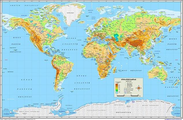 14. Peki bu ülkelerden hangileri komşudur?