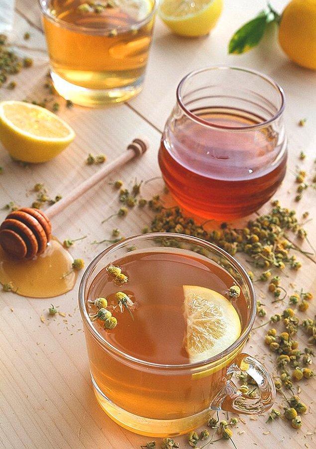 9. Papatya çayı ile mide bulantısına bitkisel dokunuş!
