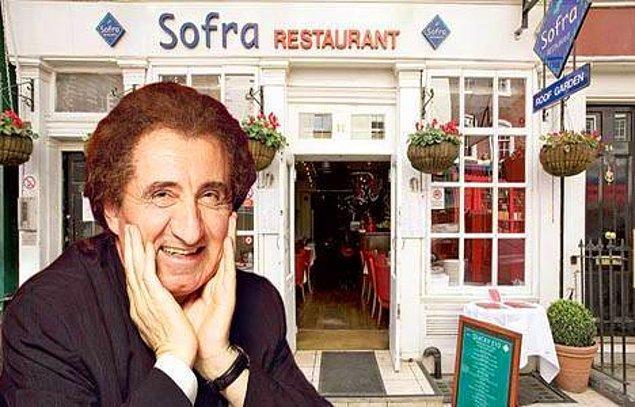 Hüseyin Özer bugün, Londra'da önündeki kuyruklarla ünlü Sofra restoranlarının sahibi. Bir başka tanımlamayla, 'İngiliz Kraliyet Ailesi'ne Türk yemeği yediren adam'.
