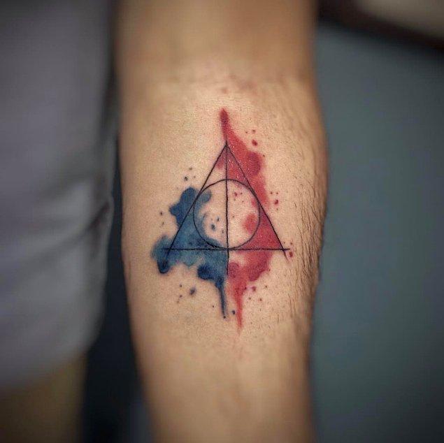 2. Başarılı bir geometrik dövmeden daha fazlası.