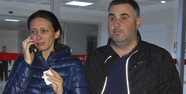 """22. 8 Aralık'ta 4 aylık hamile olan Ebru Tireli, parkta spor yaptığı sırada """"Bir daha burada yürümeyeceksin"""" diyen kimliği belirsiz bir kişi tarafından darp edildi."""