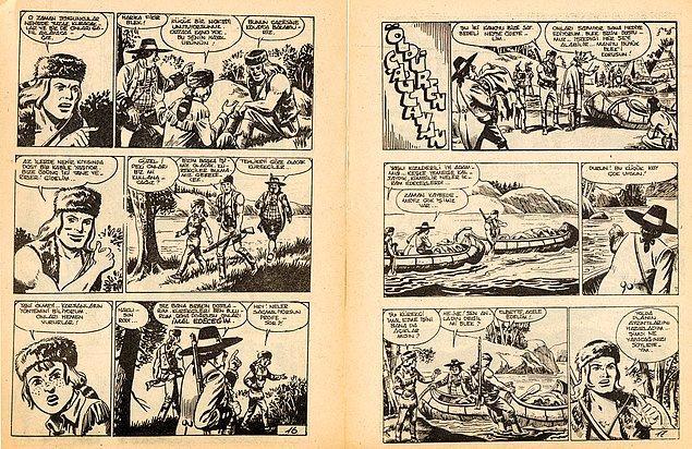 1. Teksas ve Tommiks çizgi romanlarının ilk zamanlarına şahit olup farklı çizgi romanları da Teksas-Tommiks adıyla benimsedik.