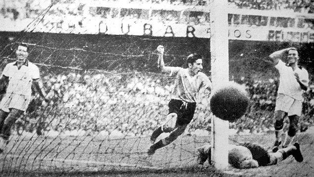 10. Brezilya'da düzenlenen 1950 dünya kupasına çok masraflı olduğu gerekçesiyle katılmamıştık.