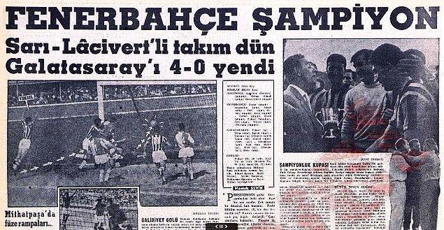 12. 1959 Millî Lig yani ilk Türkiye Profesyonel Futbol Ligi sezonu da bizim çocukluğumuzda başlamıştı.