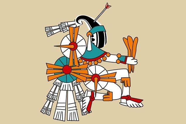 6. Itztlacoliuhqui - Aztek mitolojisi