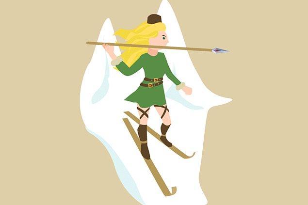 10. Skadi - İskandinav mitolojisi