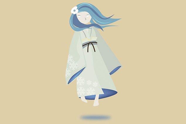 13. Yuki-onna - Japon mitolojisi