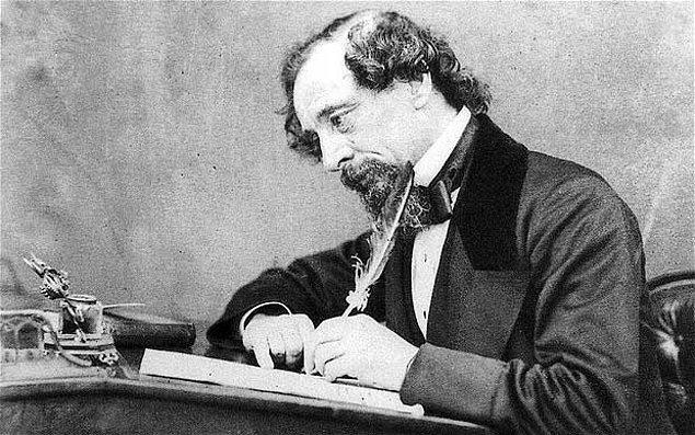 9. Son soru! Hemen hemen aynı dönemde yaşamış olmalarına rağmen Dostoyevski'yi oldukça etkileyen, Kasvetli Ev, Oliver Twist ve İki Şehrin Hikayesi romanlarını kaleme almış olan yazar kimdir?