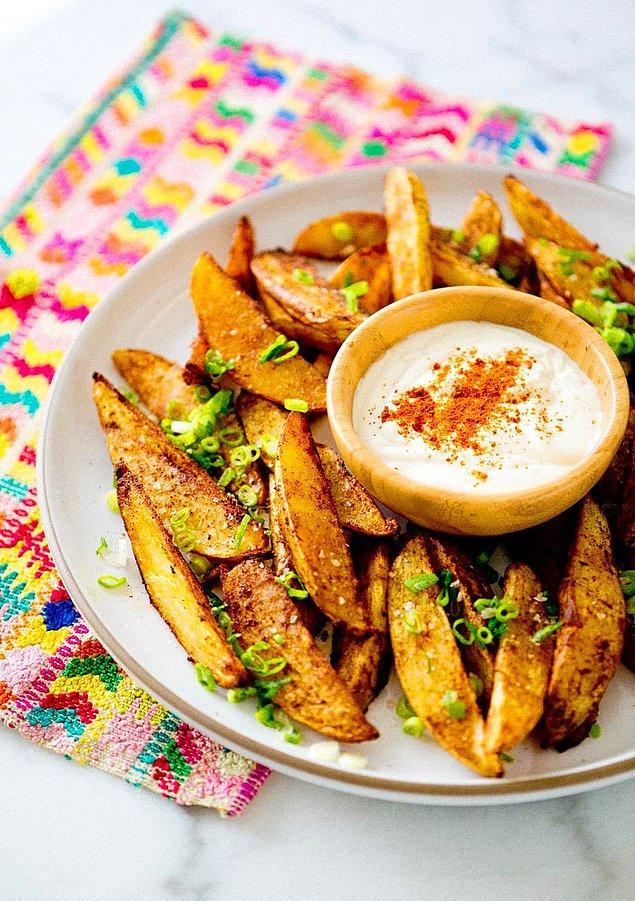 4. Patatesi o sosa banma!