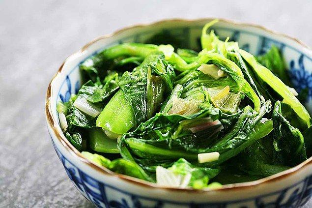 11. Yeşil gıdalar her zaman ilk tercihimiz!