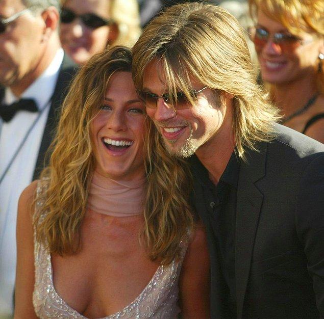 2. Brad Pitt - Jennifer Aniston