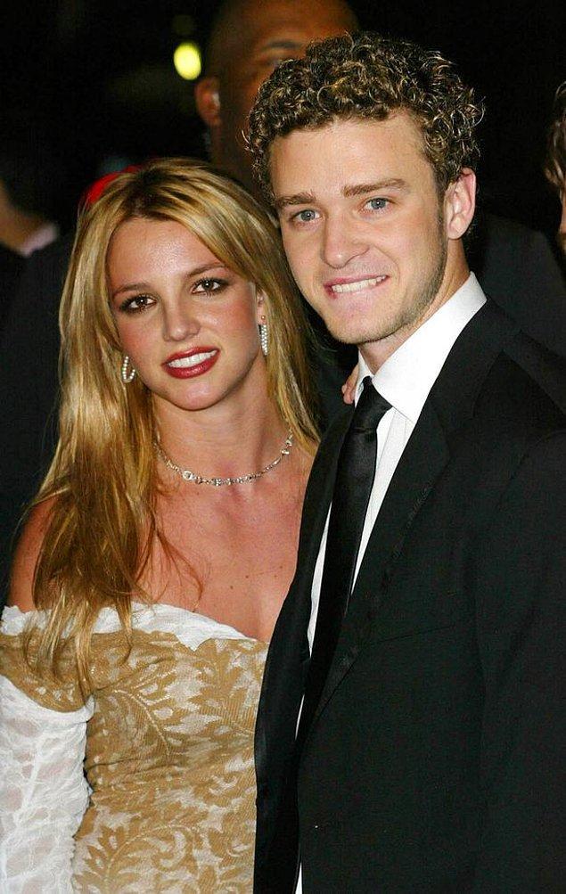 3. Britney Spears - Justin Timberlake