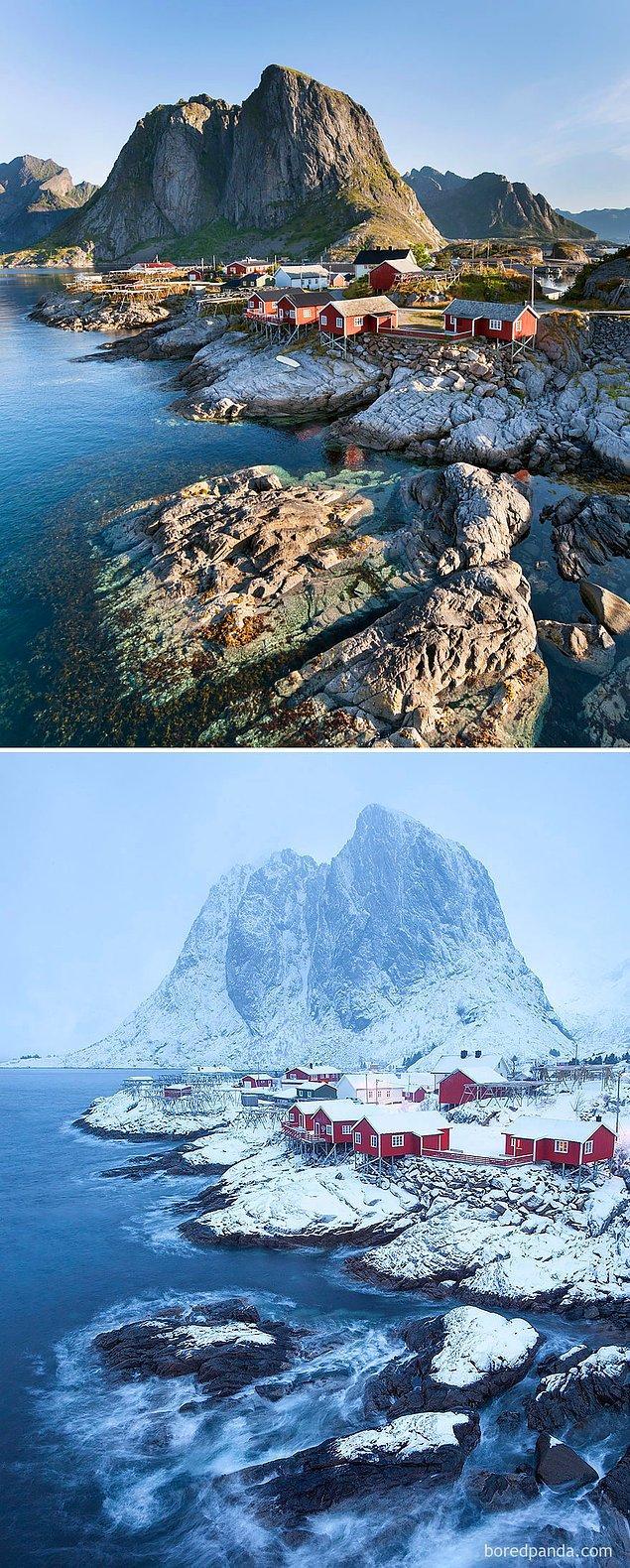 3. Hamnøy, Norveç