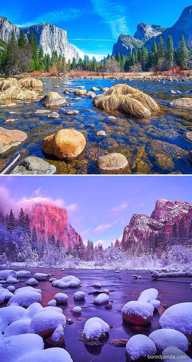 7. Yosemite Ulusal Parkı, Kaliforniya, ABD