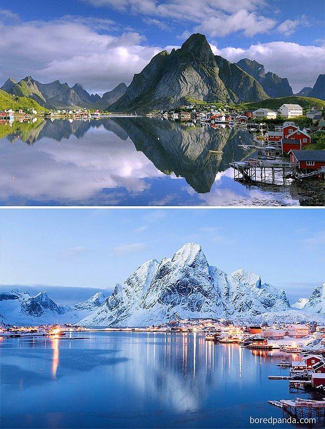 16. Reine, Norveç