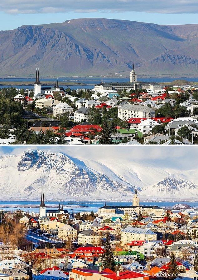 23. Reykjavik, İzlanda