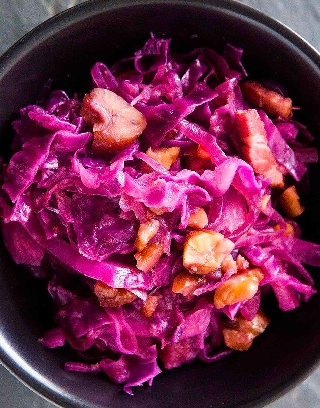 7. Ilık Kestane Salatası Tarifi