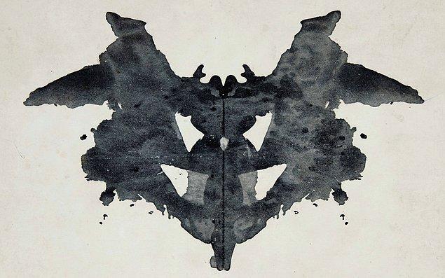 8. Son olarak bu mürekkep lekesinin zihninde uyandırdığı duygu bunlardan hangisi ya da hangisine daha yakın?