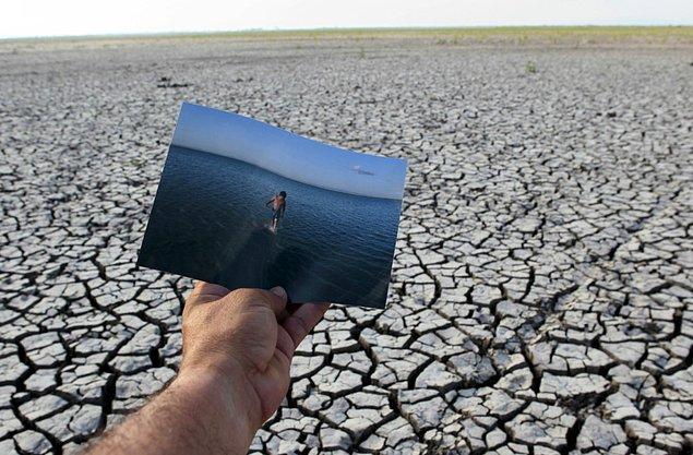 18. Tisma Vadisi Doğal Reservinde aynı noktada 2008 yılında çekilmiş bir fotoğraf her şeyi açıklamaya yetiyor.