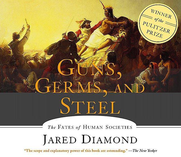 9. Guns, Germs and Steel (Jared Diamond)