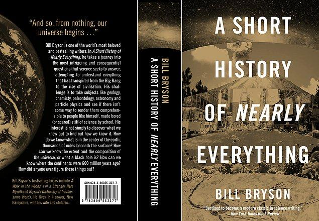 12. A Short History of Nearly Everything (Bill Bryson)