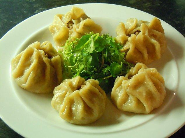 13. Moğolistan'ın tatmaya değer lezzetlerinden: Buuz!