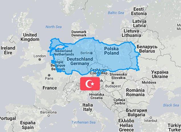 7. Türkiye de az değil