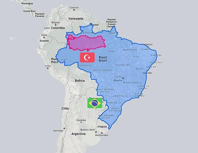 9. Brezilya ve Türkiye