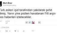 2 Türk Askerinin Işid tarafından kaçırılması ve daha sonrasında yakılarak şehit edildiği iddiasına Sosyal medya kullanıcılarının tepkisi çok sert oldu. İşte onlardan bir kaçı...