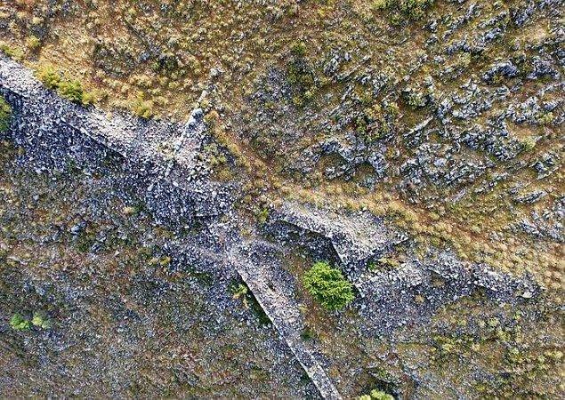 Keşif, arkeologlar Vlochós isimli köyün kalıntılarını araştırırken gerçekleştirildi.