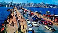 Ve Tarihi Galata Köprüsü İstanbul'a Veda Etti...