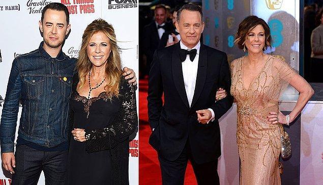 11. Tom Hanks ve Rita Wilson'ın oğlu Colin