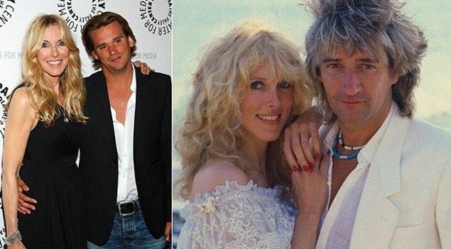 10. Rod Stewart ve Alana Stewart'ın oğlu Sean
