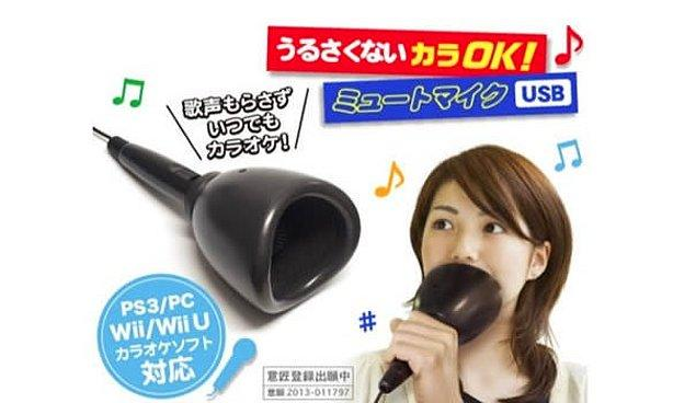 5. Karaoke susturucu.