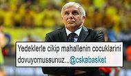 Fenerbahçe'nin CSKA'yı Farklı Mağlup Etmesinin Ardından Yapılan En Güzel Galibiyet Paylaşımları
