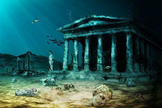 8. Yunanistan'ın Zante adası kıyılarında kayıp bir su altı kenti bulundu.