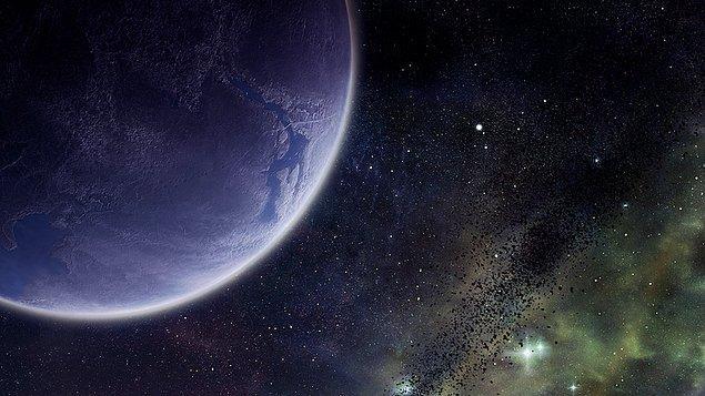12. Güneş Sistemi'nde Dünya'nın 10 katı büyüklüğünde bir dokuzuncu gezegenin bulunduğuna dair güçlü kanıtlar elde edildi.