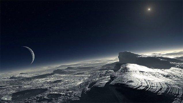 15. Plüton'un atmosferinin sandığımızdan daha yoğun ve soğuk olduğu keşfedildi.