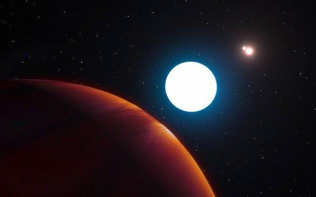 19. Dünya'ya 320 ışık yılı uzaklıkta, üç yıldızlı devasa bir gezegen keşfedildi.